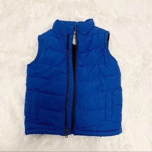 Gymboree boy puffer vest